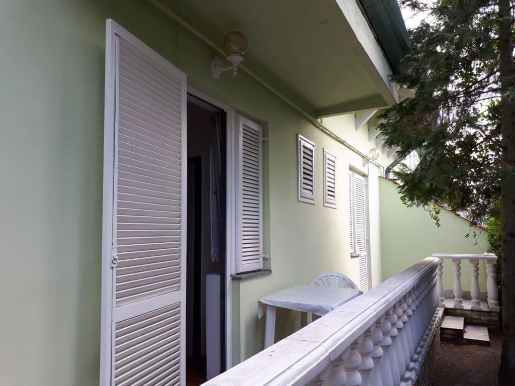 Hosszú Apartman Balatonlelle, terasz 7-8