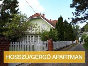 Hosszú/Gergő Apartman Balatonlelle