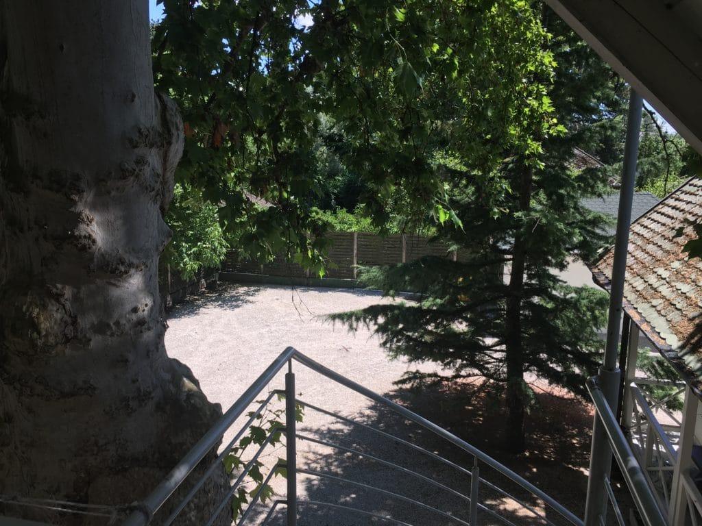 Meiszter Villa Balatonlelle, belsőudvar