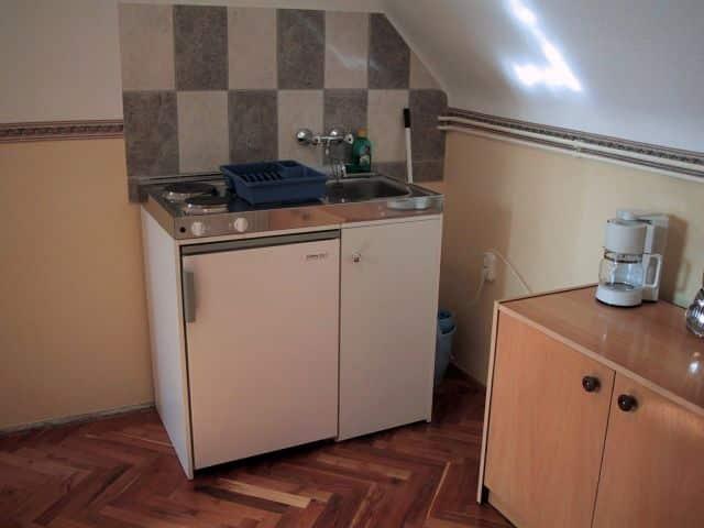 Meiszter Apartman Balatonlelle, konyha